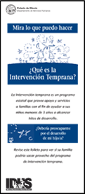 DHS Early Intervention Brochure (Spanish)